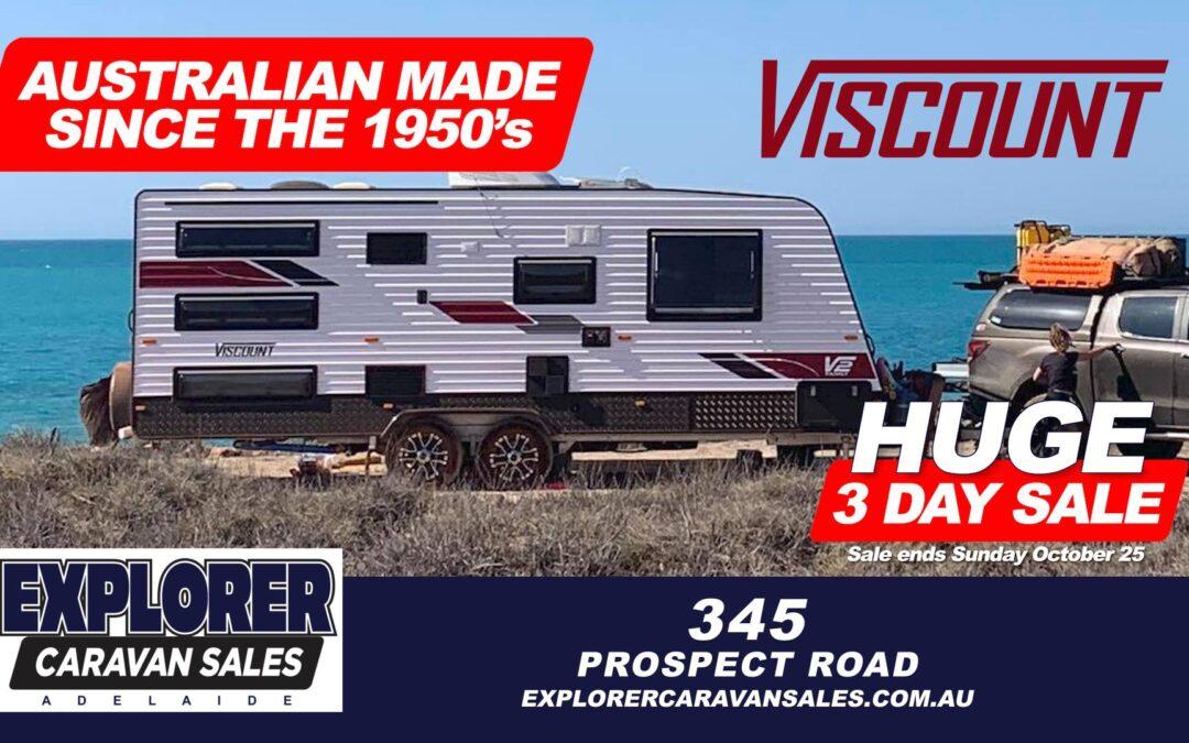 Explorer Caravan Sales Adelaide Huge Yard Sale