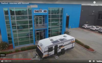 Caravan Industry News Interview at Thetford HQ