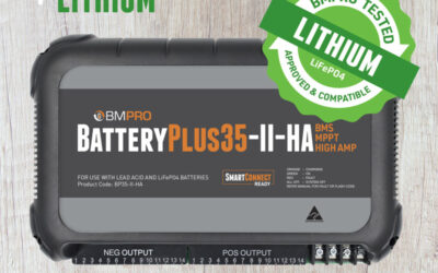 Lithium Battery Options now available on the Viscount Caravan Range